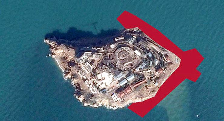 AKP tarafından bütün ağaçları kesilen Yassıada genleşiyor: Deniz doldurulacak, ada feribotlar için genişletilecek