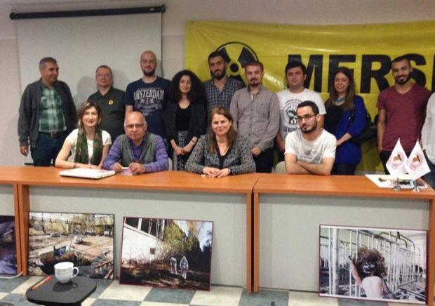 Mersin'de 31. yıldönümünde Çernobil hatırlandı, Akkuyu konuşuldu
