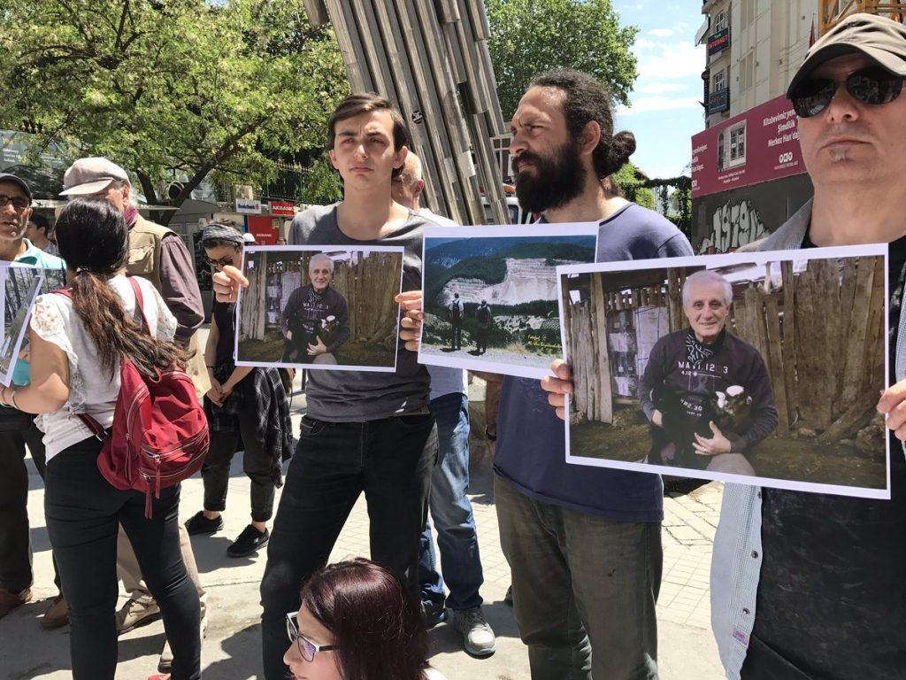 Ali ve Aysin Büyüknohutçu çiftinin yaşamı savunan dostları: Mücadeleleri devam edecek