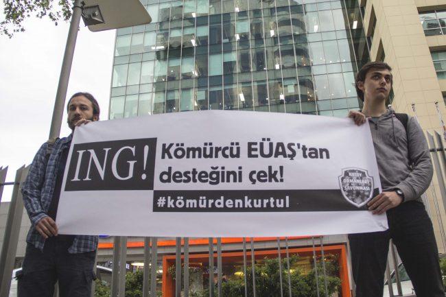 ING Bank, kömürcü EÜAŞ'tan desteğini çek!