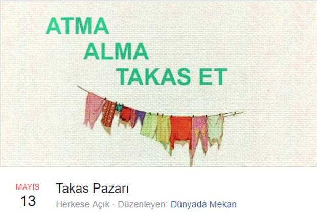 Beyoğlu'nda takas pazarı: Atma, alma, takas et! – 13 Mayıs Cumartesi