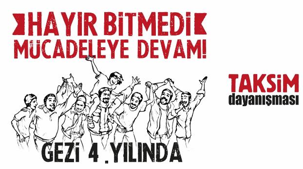 Taksim Dayanışması: Hayır bitmedi, mücadeleye devam ediyoruz