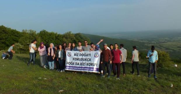 Kırklareli Gençlik Meclisi'nden üniversite öğrencilerine Istranca'da doğa hakları turu