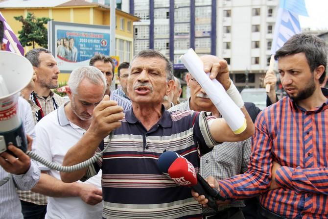 300 bin kişinin içme suyu üzerine yapılan HES'e tepki