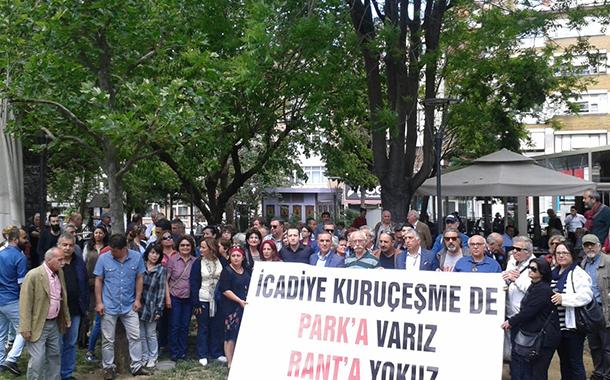 """Üsküdar halkı: Kuruçeşme'de """"park""""a varız """"rant""""a yokuz"""