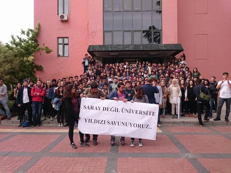 YTÜ öğrencileri 'külliye'ye karşı birleşti: Yıldız kimliği ve kültürü yok edilecek