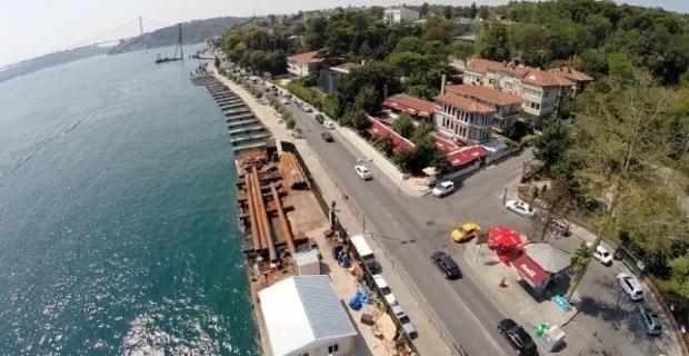 Betonkafalar Boğaziçi'ni 4 ile 27 metre arasında daralttı!