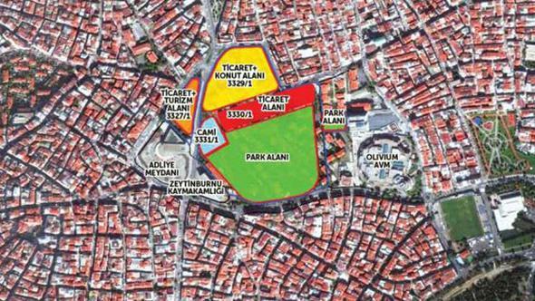 Zeytinburnu'nda kamuya ait onbinlerce metrekare askeri alanı inşaat sermayesine peşkeş çektiler!