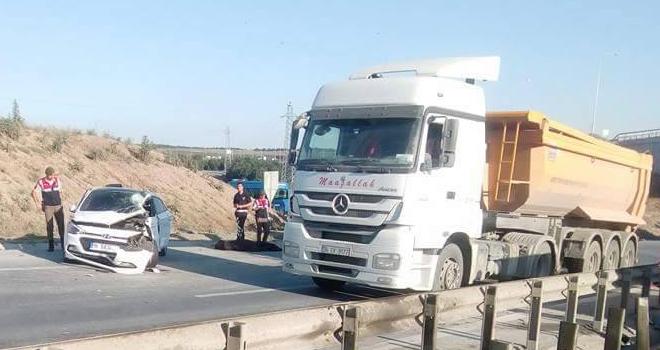 Hafriyat kamyonu teröründe yine bugün: Eyüp Odayeri'nde bir kişi öldü iki kişi ağır yaralandı