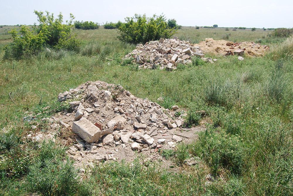 Tekirdağ – Saray'ın orman ve meraları hafriyat çöpleriyle doldu!