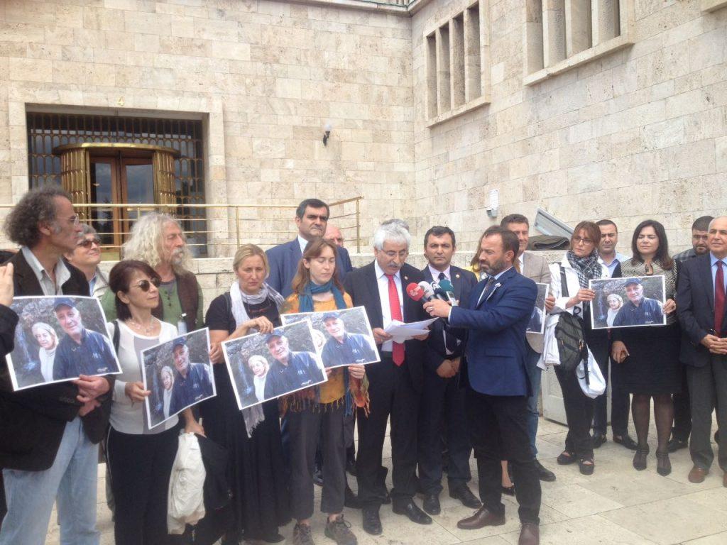 Yaşam savunucuları TBMM'de: Büyüknohutçu çiftinin cinayeti aydınlanana kadar mücadeleye devam