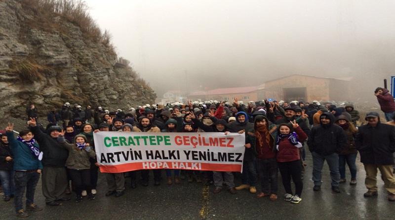 Cerattepe'de maden için katliam başladı: Artvin'i yok edecek!