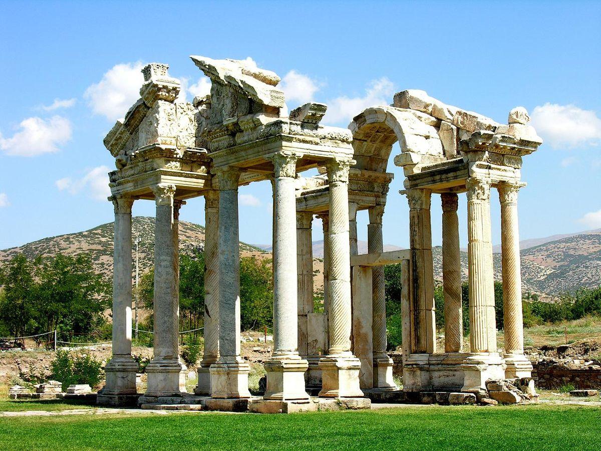 Aydın'daki Afrodisias Antik Kenti, UNESCO Dünya Mirası Listesi'ne girdi