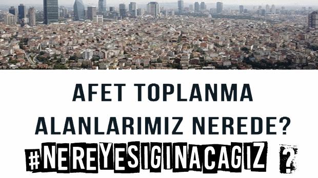 İstanbul'da 493 alandan geriye kalan 77 deprem toplanma alanının yeri saklanıyor