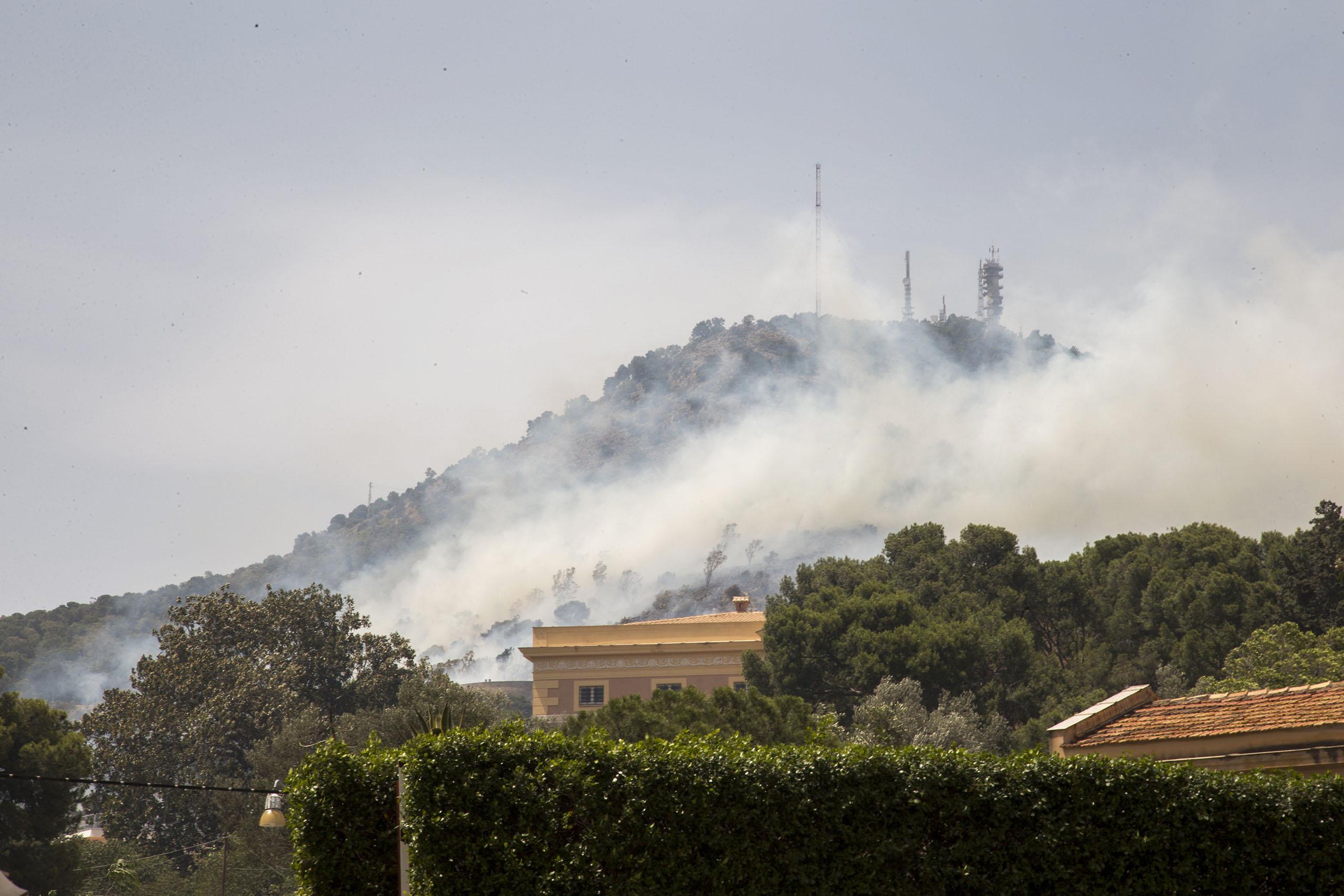 Sicilya'da orman yangını Dünya Miras Listesi'nde yer alan Tapınaklar Vadisi yakınlarına ulaştı