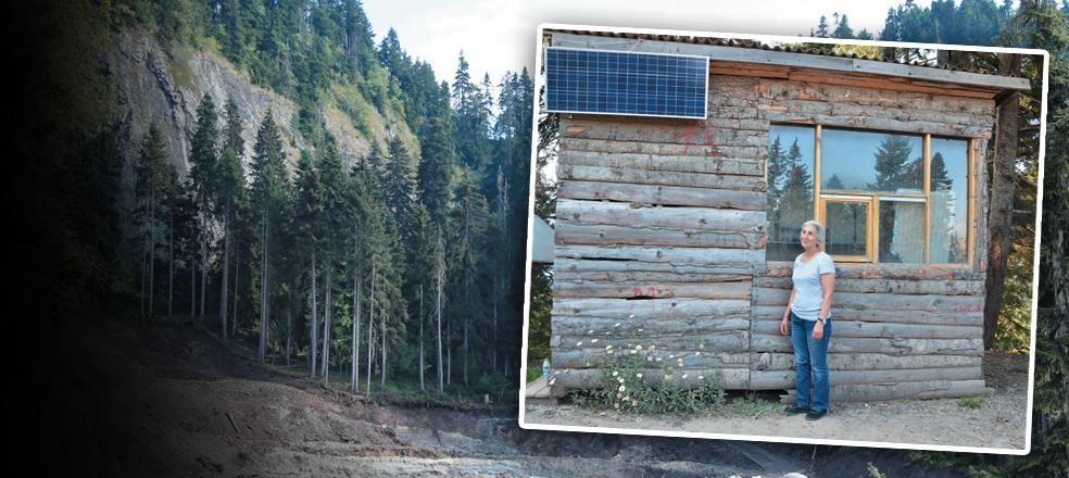Orman Bölge Müdürlüğü ormanı katleden Cengiz Holding'e değil tahta kulübeye dava açtı
