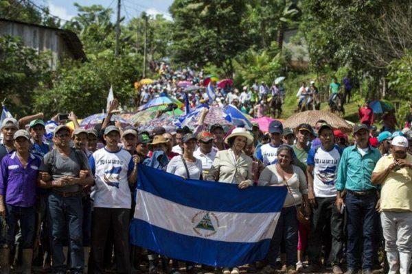 Nikaraguay'da çiftçiler 'kanal projesi'ne karşı ayakta