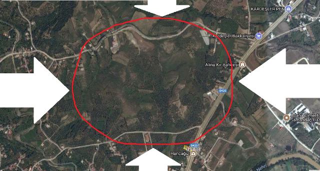 Antakya Defne'de 'Yeni Sanayi Sitesi' için binlerce zeytin ağacı katledilecek!