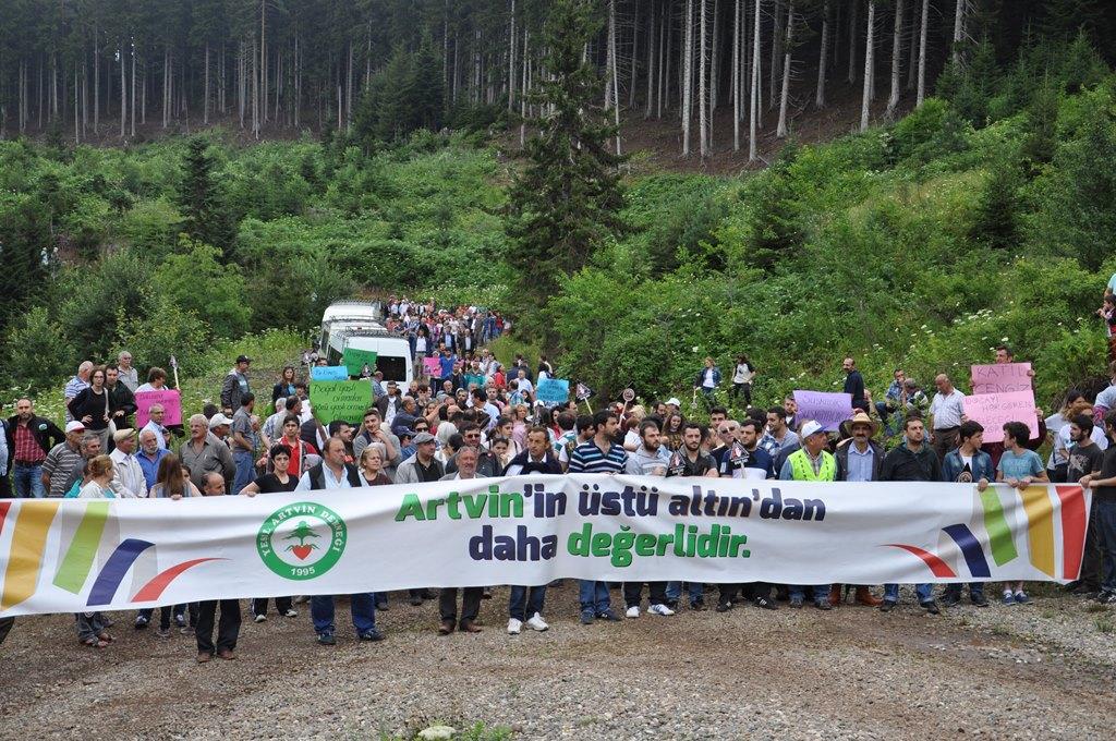'Cerattepe'de madencilik yapılabilir' kararı AYM'ye taşındı