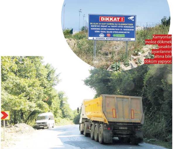 Hafriyat kamyonları can almakla kalmıyor, İstanbul'da çevre felaketine de yol açıyor