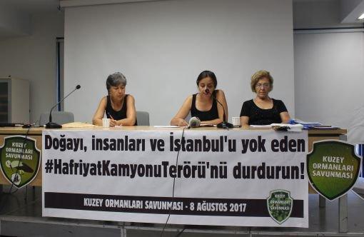 KOS, hafriyat kamyonu terörüne karşı çözüm ve taleplerini açıkladı