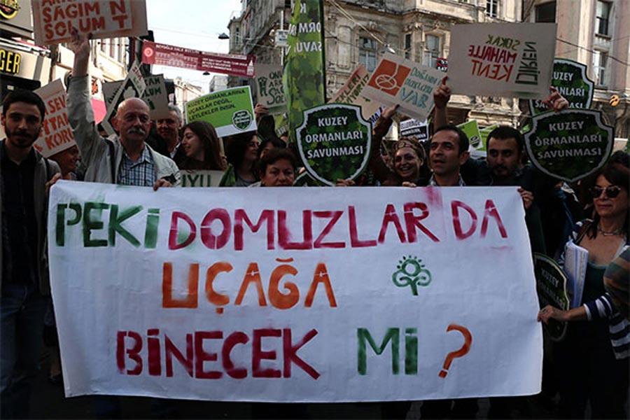 Kuzey Ormanları Savunması (KOS): KOS temel olarak bir sokak hareketidir