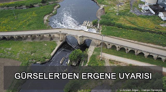 Tekirdağ eski Baro Başkanı Güneş Gürseler: Ergene Nehri'nin kirli suyu Marmara'ya dökülecekse, zaten can çekişen Marmara'ya son ölümcül darbe olacaktır