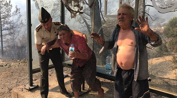 Muğla'daki orman yangını yerleşim yerlerine sıçradı, Zeytinköy boşaltılıyor