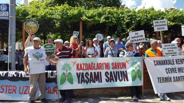 CHP'li Tanal Kaz Dağları Termik Santral Toplantısı'nda: Devlet-işveren baş başa görüşüyor, bize yasak!