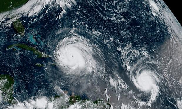 Irma ve Harvey, iklim değişikliğinin gerçek olduğuna dair herhangi bir kuşkuyu ortadan kaldırıyor