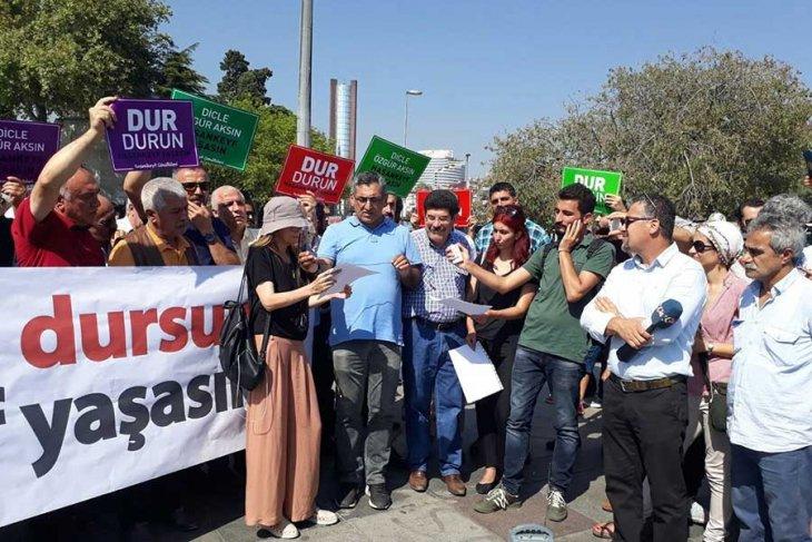 'Ilısu Barajı durdurulsun, Hasankeyf yaşasın'