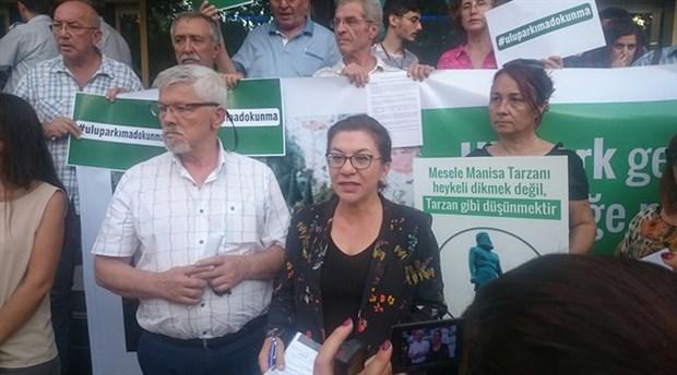 Manisa'da yurttaş parka otopark istemiyor:Oy birliğiyle aldığınız karardan oybirliğiyle dönün