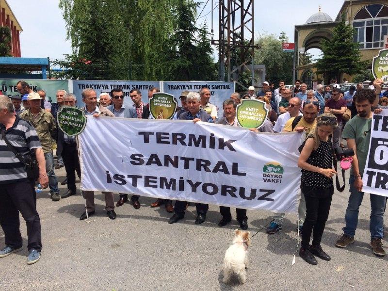 Trakya'nın Termik Santral İsyanı Meclis'te