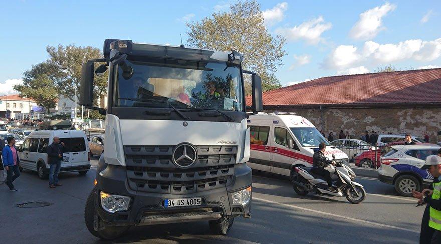 Şehirde cirit atan inşaat araçları hız kesmiyor: Beton mikseri, İstanbul'un ortasında 60 yaşındaki kadını öldürdü