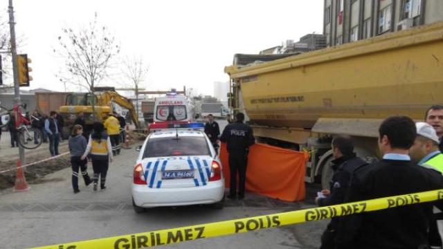 Hafriyat kamyonu terörü, İstanbul'da bir canımızı daha aldı!