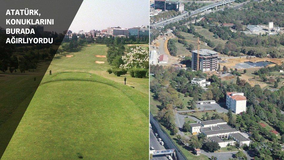 İstanbul'un ortasında bir asırdır golf sahası olan 350 dönümlük askeri alan yapılaşmaya açıldı!
