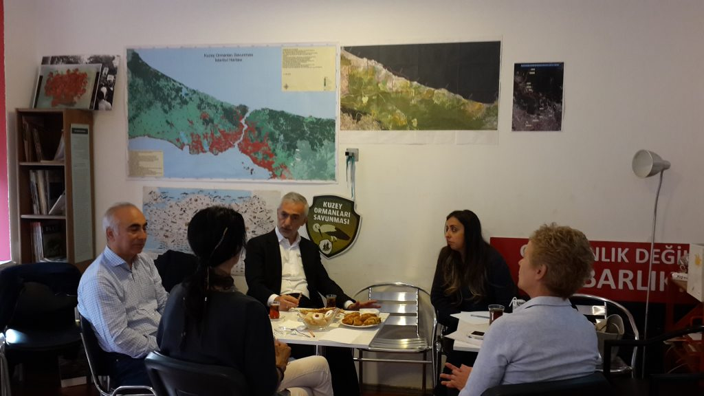 KOS'u ziyaret eden Kağıthane Belediye Başkanından Kuzey Ormanları üzerindeki ulaşım ve yapılaşma baskısına son verilmesi istendi