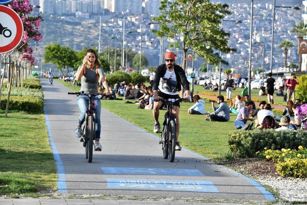 İzmir 'Avrupa Bisiklet Yolları Ağı'na katıldı