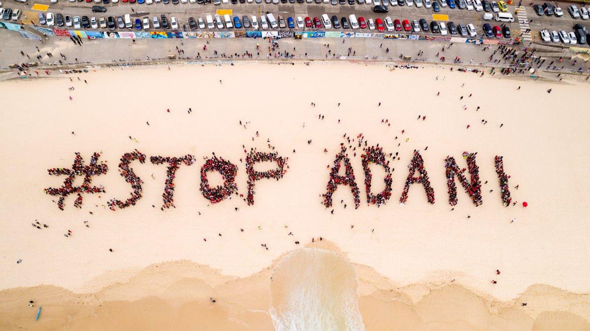 Avustralyalı yaşam savunucuları dünyanın en büyük kömür madeni projesine karşı direniyor
