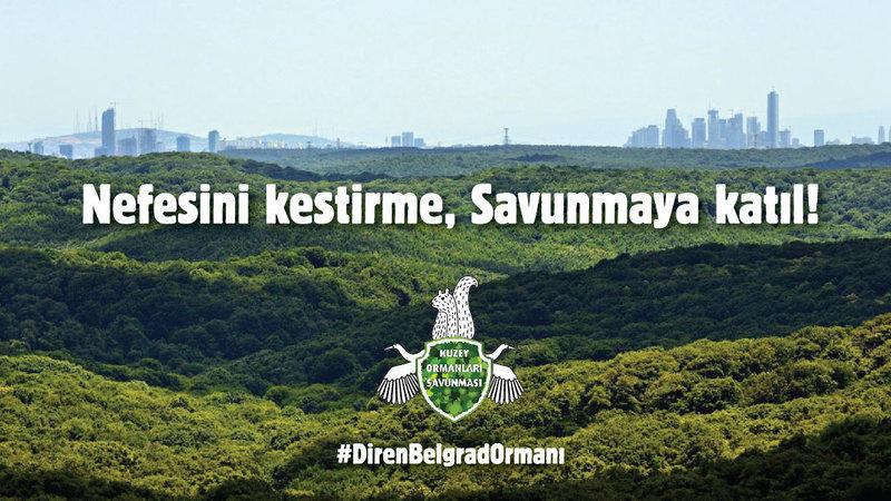 Kuzey Ormanları Savunması, Belgrad Ormanı için Sarıyer'de toplanıyor – 28 Ekim Cumartesi