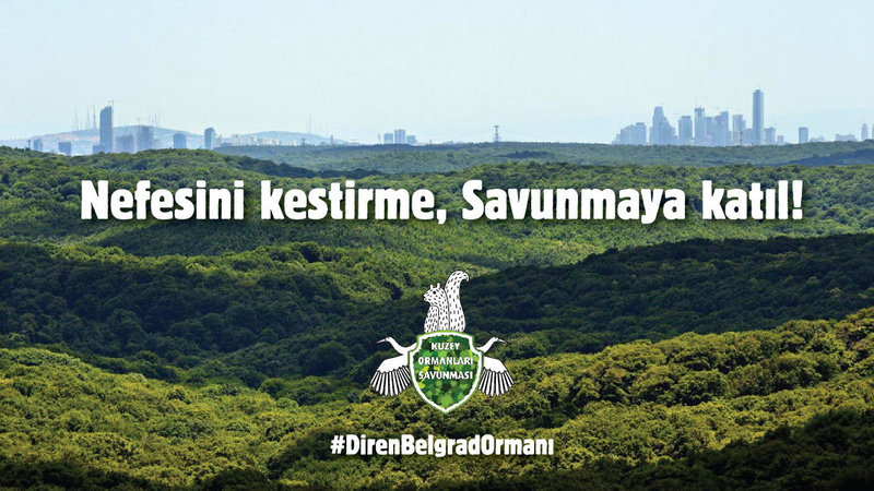 Belgrad Ormanı'nın İdam Fermanı Demiryolunu İptal Ettirdik, Sıra Kuzey Ormanları İşgalini Kırmakta…