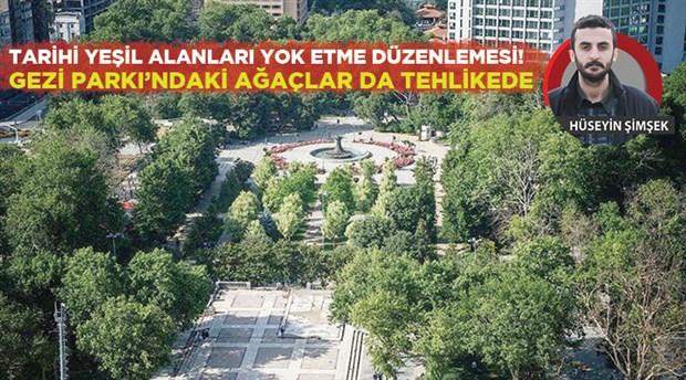 Hükümet artık 81 kentte kaç yıllık olursa olsun istediği ağacı 'anıt ağaç' statüsünden çıkarıp kesebilecek