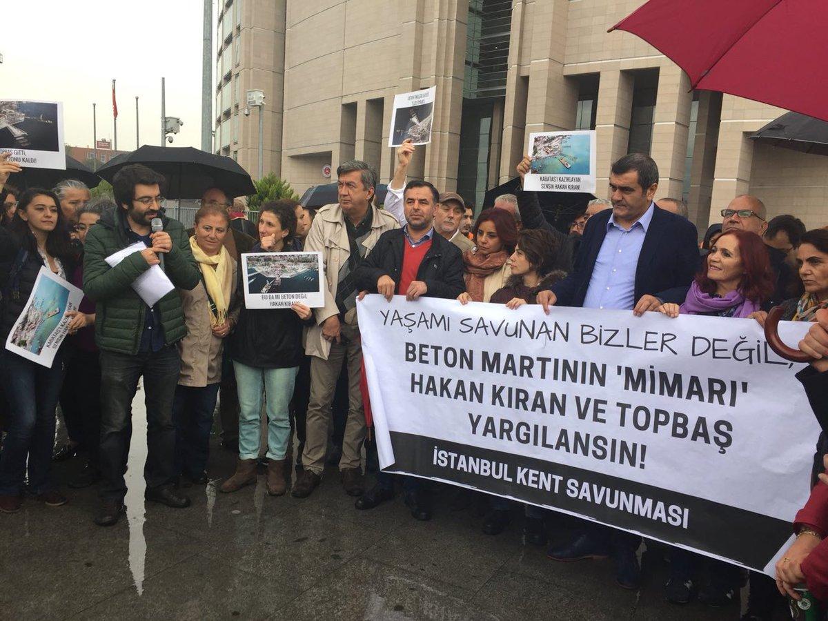 İstanbul Kent Savunması: 'Biz değil, kente ihanet edenler yargılansın!'