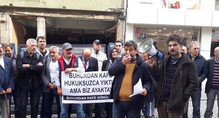'Hayır' toplantıları yapılan Üsküdar'daki Buhurdan Kafe: Yıkımın esas nedeni rant