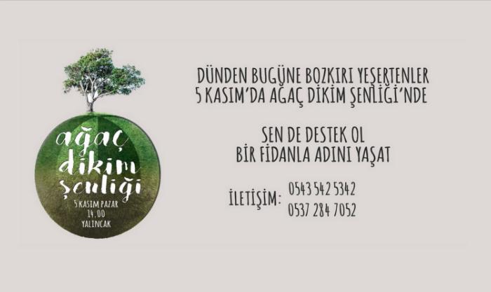 ODTÜ'lüler 5 Kasım'da ağaç dikim şenliğine çağırıyor