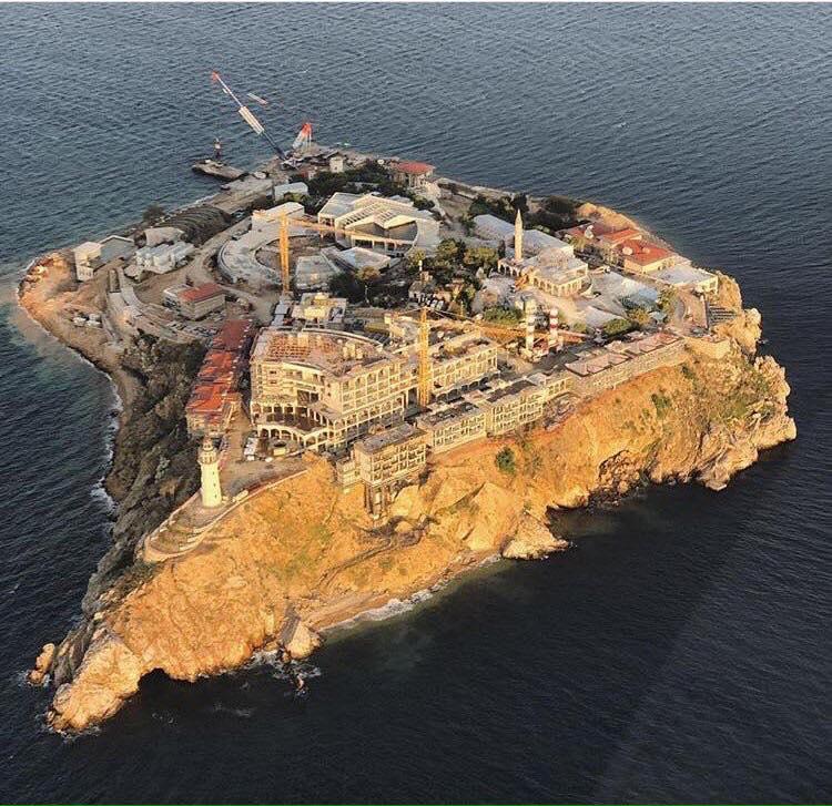 İmara açılarak yok edilen bir ada: Yassıada