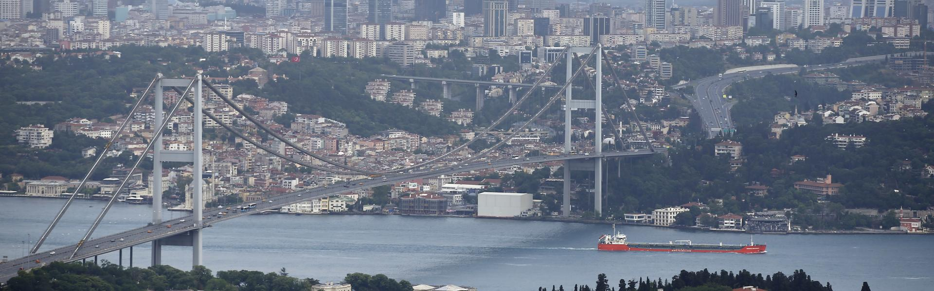 "Turkey's construction frenzy and the ""Crazy Channel Project"""
