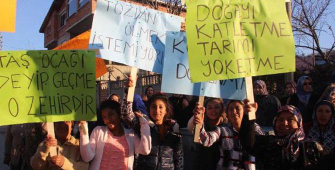 """Vize köylüleri direnişte: """"Istrancalara bir taş ocağı yapılmasına daha izin vermeyeceğiz!"""" #DirenKuzeyOrmanları"""