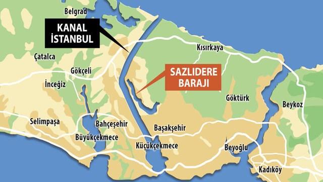 """Kanal İstanbul'un ÇED süreci başladı: TEMA'dan, """"İstanbul'un geleceğini etkileyecek projeler"""" raporu"""