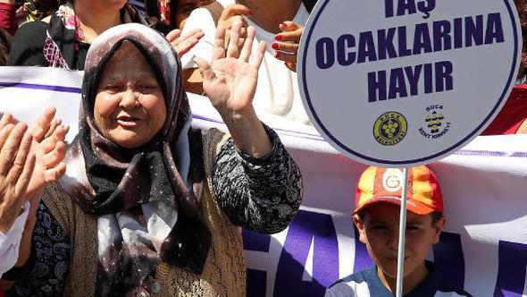 Kırıklar'daki taş ocağı için yürütmeyi durdurma kararı